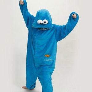 Cookie Monster onesie!!